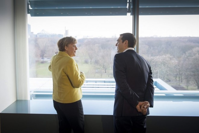 Greek PM Tsipras visits Berlin
