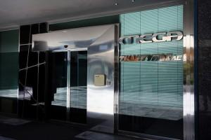 Εξωτερική άποψη του κτιρίου όπου στεγάζεται το MEGA Channel ( Τηλέτυπος Ανώνυμη Εταιρεία Τηλεοπτικών Προγραμμάτων), το οποίο αποκλείστηκε από τον διαγωνισμό για τις τηλεοπτικές άδειες, Αθήνα, την Πέμπτη 11 Αυγούστου 2016. ΑΠΕ-ΜΠΕ/ΑΠΕ-ΜΠΕ/ΣΥΜΕΛΑ ΠΑΝΤΖΑΡΤΖΗ