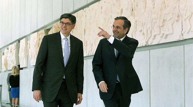 Τζακ Λιού: «Η Ελλάδα δουλεύει πολύ σκληρά»