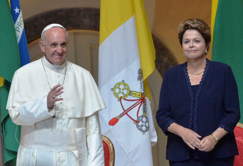 Επεισοδιακή επίσκεψη του Πάπα στη Βραζιλία