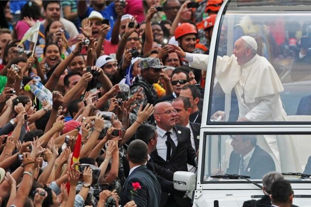 Στο υψηλότερο επίπεδο επικινδυνότητας η επίσκεψη Πάπα στην Βραζιλία