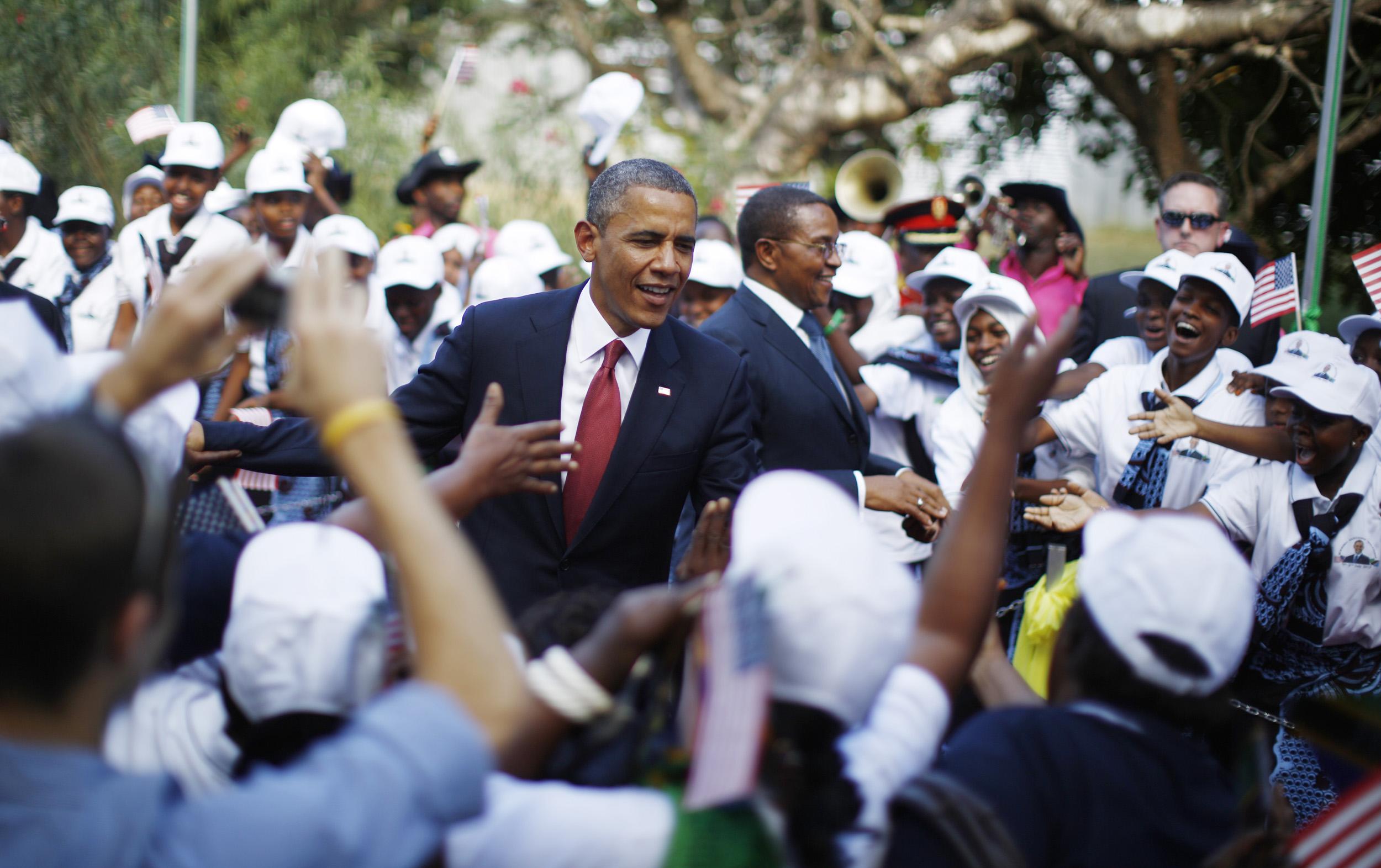 Γιατί δεν πήγε ο Ομπάμα στην Κένυα;