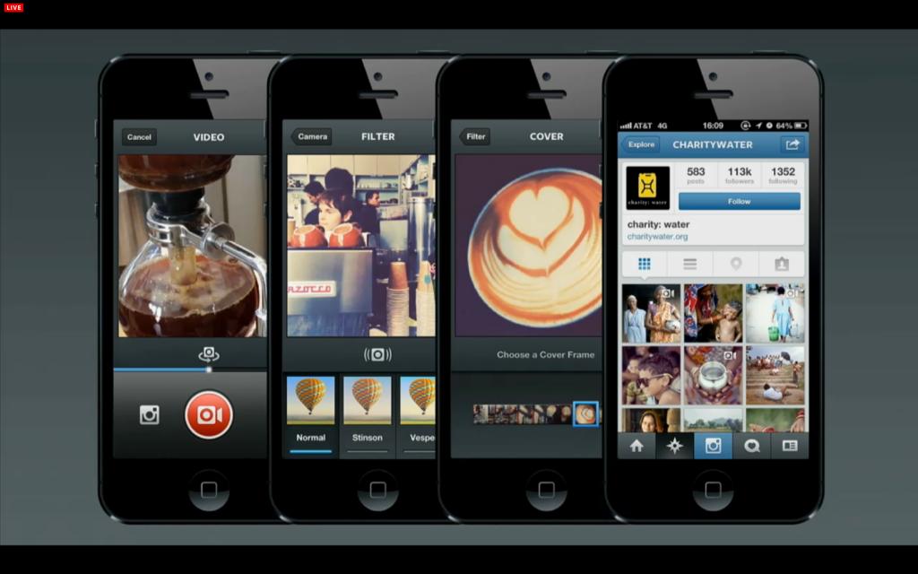 Instagram + Βίντεο = Λιγότερο Instagram