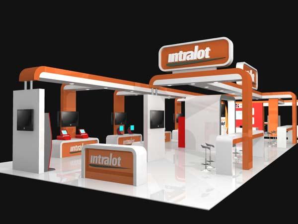 Exhibition Stand Design Gallery : Intralot Ανεβάζει το μερίδιο της στο στην τουρκική