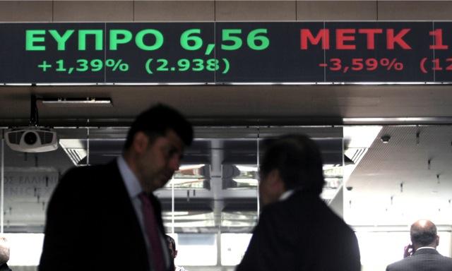 Άνοδος 1,02% στο Χρηματιστήριο Αθηνών