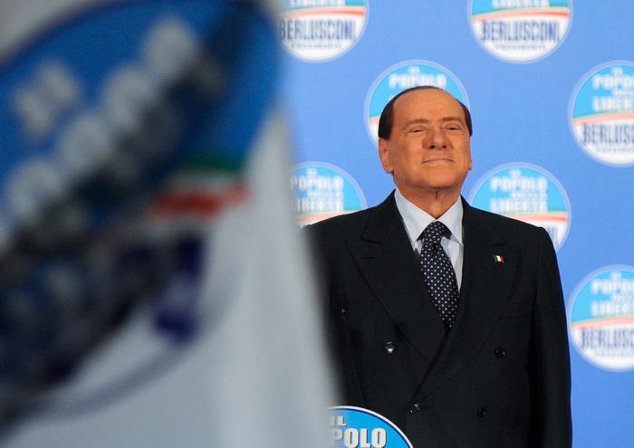 Μπερλουσκόνι: «Θα είμαι πάντα κοντά στους ψηφοφόρους μου»
