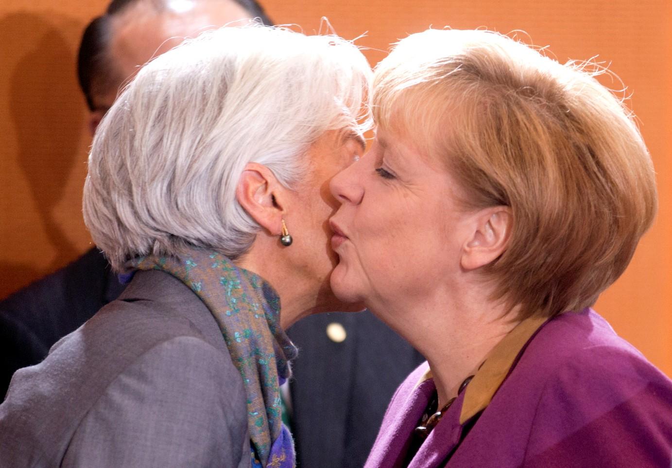 Την Λαγκάρντ θα προτιμούσε η Μέρκελ για πρόεδρο της ΕΕ