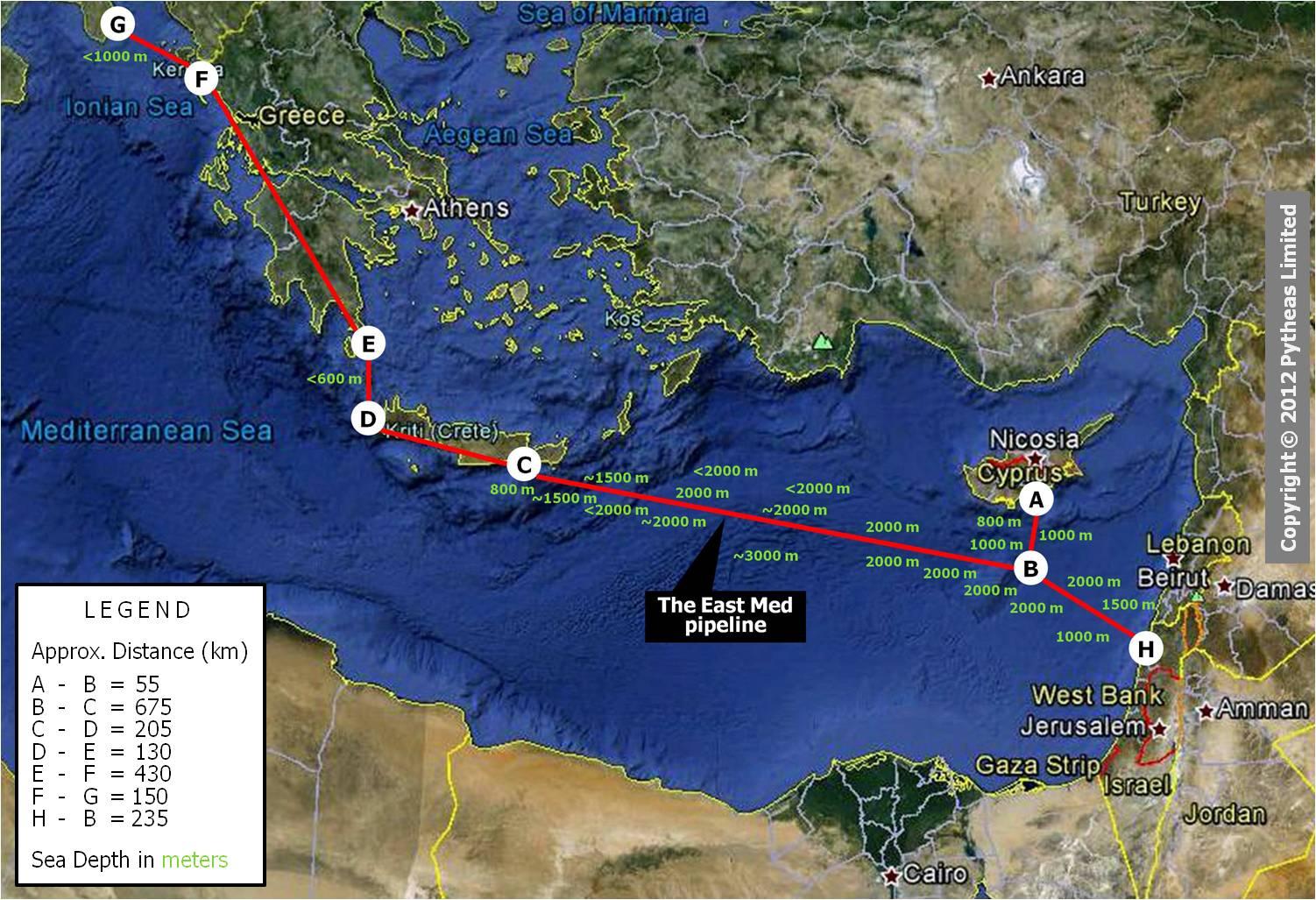 Ενεργειακός κόμβος Ελλάδας – Κύπρου – Ισραήλ