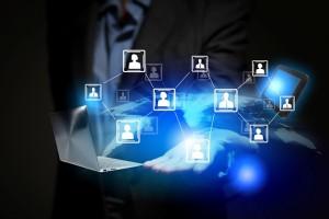 social media client management business network
