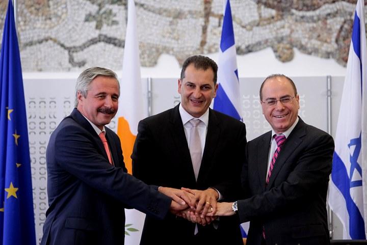 Ελλάδα-Κύπρος-Ισραήλ ενώνουν δυνάμεις