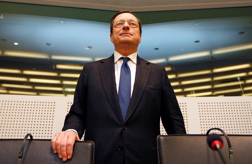 Πιο «απαισιόδοξη» η ΕΚΤ για την ανάπτυξη στην Ευρωζώνη