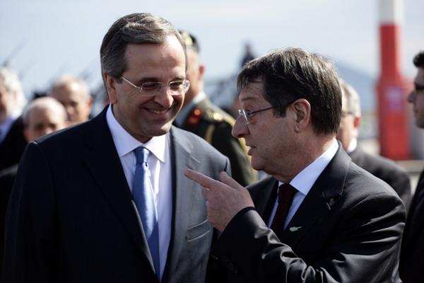 Σαμαράς – Αναστασιάδης συζήτησαν για το Κυπριακό