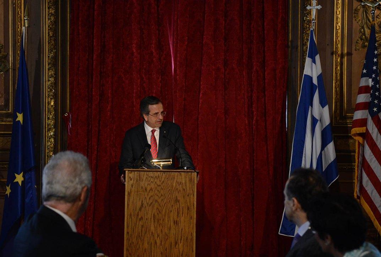 Σαμαράς σε ομογενείς: «Επενδύστε στην Ελλάδα»