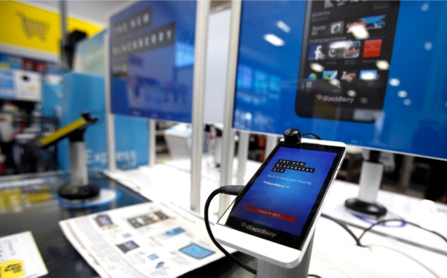 Τελειώνουν οι επιλογές για την Blackberry