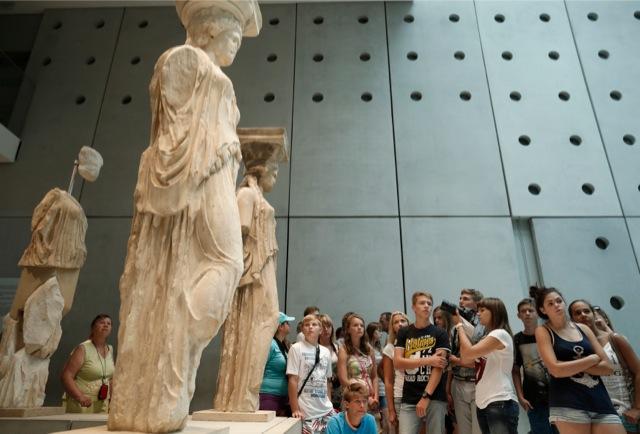 Ο Απρίλης πήγε μουσείο