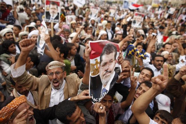 Χιλιάδες διαδηλωτές στους δρόμους της Αιγύπτου