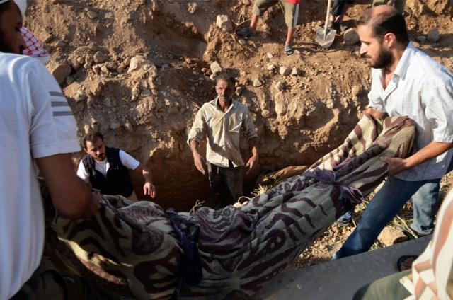 Συνεχίζεται η μακάβρια καταμέτρηση στη Συρία