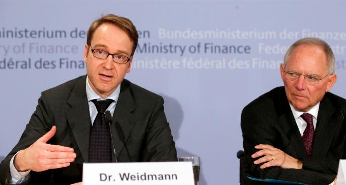 Βάιντμαν: «Μην βασίζεστε στην ΕΚΤ για την επίλυση των προβλημάτων σας»