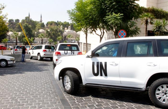 Πυρά κατά των επιθεωρητών του ΟΗΕ