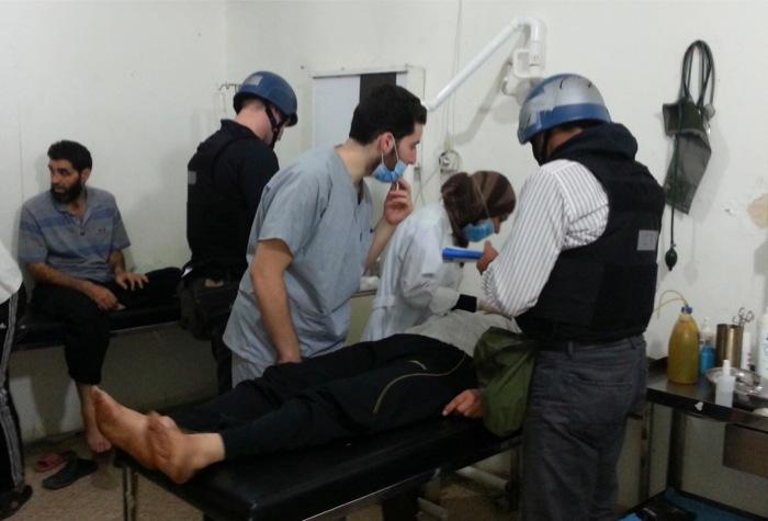 Λευκός Οίκος: «Χρήση χημικών όπλων στη Συρία»