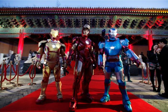 Ο Ελον Μασκ σε ρόλο «Iron Man»