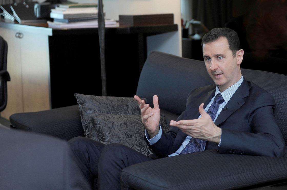 Άσαντ: «Ευχαριστώ τον Πούτιν για την υποστήριξη του»