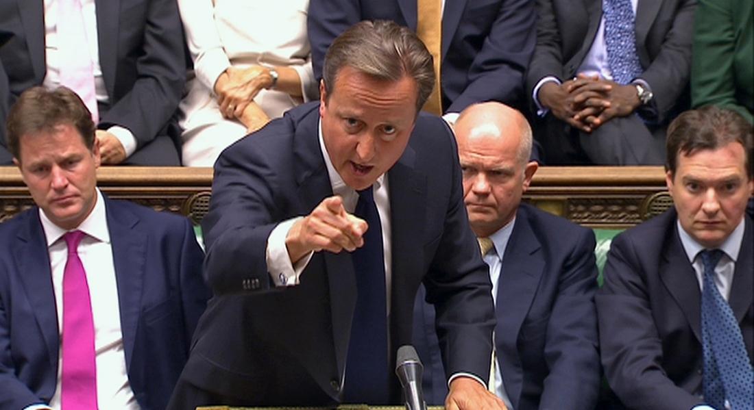 Ηχηρό «όχι» του βρετανικού κοινοβουλίου για επέμβαση στη Συρία