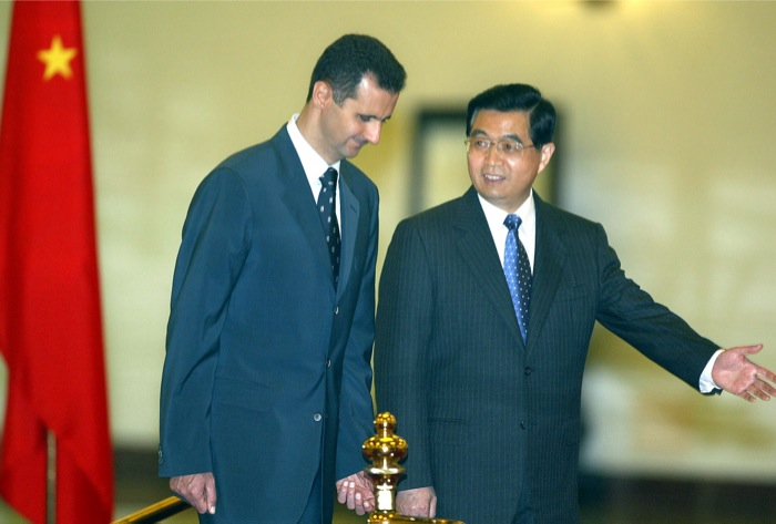 assad china