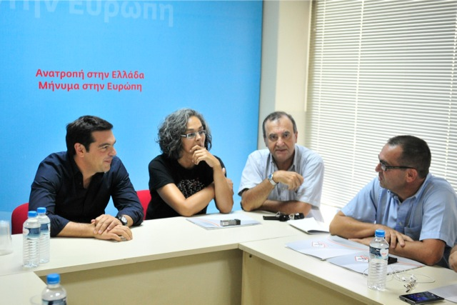 Συνάντηση του Αλέξη Τσίπρα με το προεδρείο της ΠΟΕ-ΟΤΑ