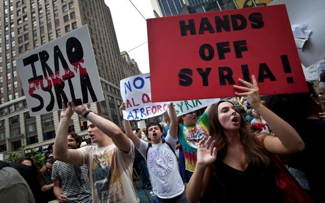 Όχι στην επέμβαση στη Συρία λένε οι Αμερικανοί