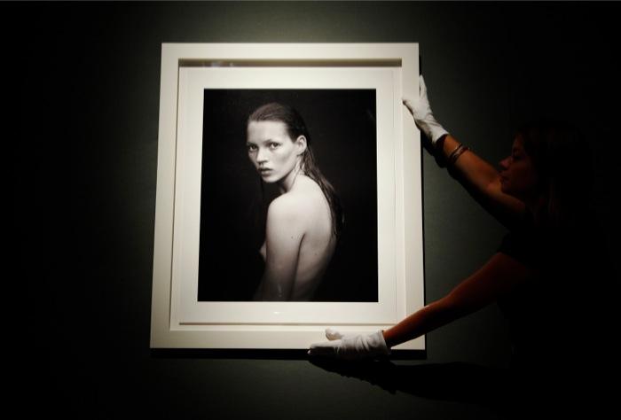 H Kate Moss σε δημοπρασία στο Christie's