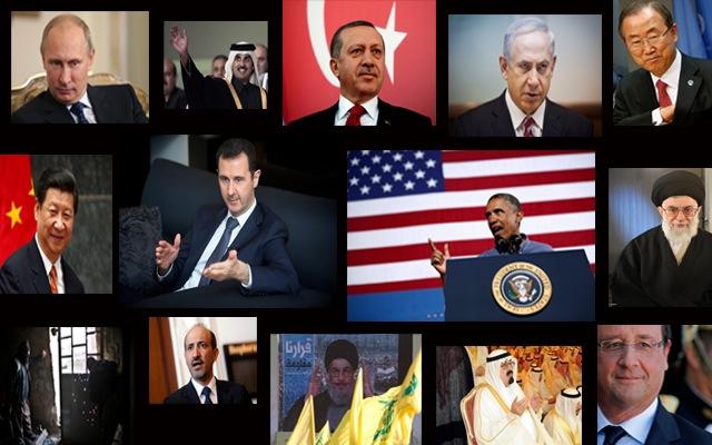 Το «Who is Who» της συριακής κρίσης