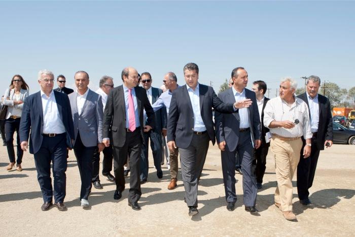 Επίσκεψη του Κωστή Χατζηδάκη σε καινοτόμες επιχειρήσεις της Βορείου Ελλάδος.