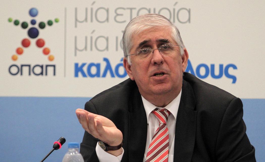 Λουρόπουλος: Ως το τέλος του 2013 τα λαχεία από τον ΟΠΑΠ