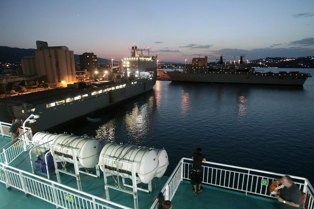 Στη Σούδα πλοία του βρετανικού Πολεμικού Ναυτικού