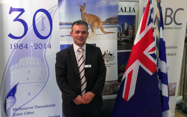 Ο επιχειρηματίας που θέλει να φέρει πιο κοντά την Αυστραλία στην Ελλάδα