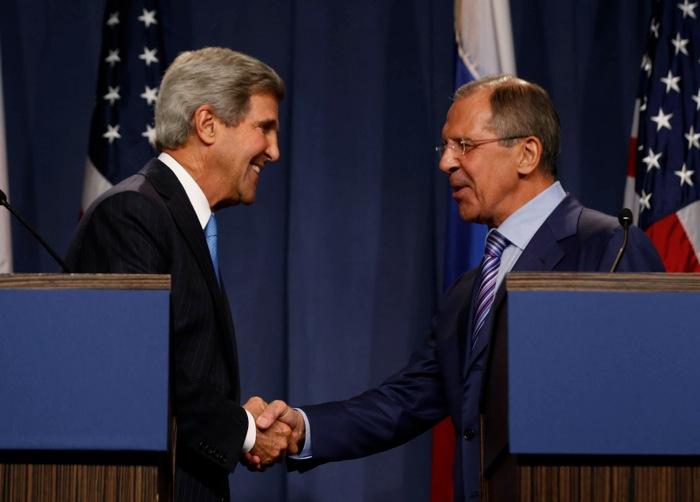 Συμφωνία «επί της αρχής» ΗΠΑ-Ρωσίας για τα χημικά όπλα της Συρίας