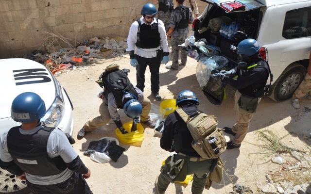 Χρήση αερίου σάριν στη Δαμασκό δείχνει το πόρισμα του ΟΗΕ