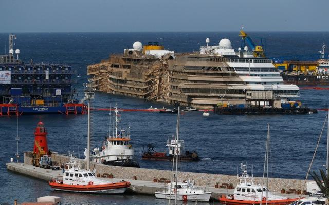 Η «τέλεια επιχείρηση διάσωσης» του Costa Concordia