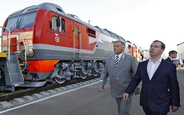 Οι Ρωσικοί Σιδηρόδρομοι «έφτασαν» στην Ελλάδα