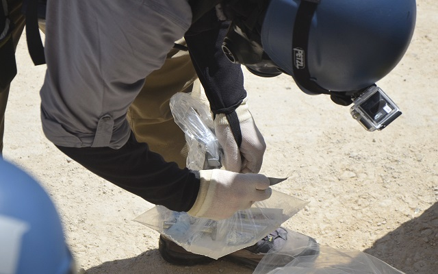 Στοιχεία για το χημικό της οπλοστάσιο γνωστοποιεί η Συρία