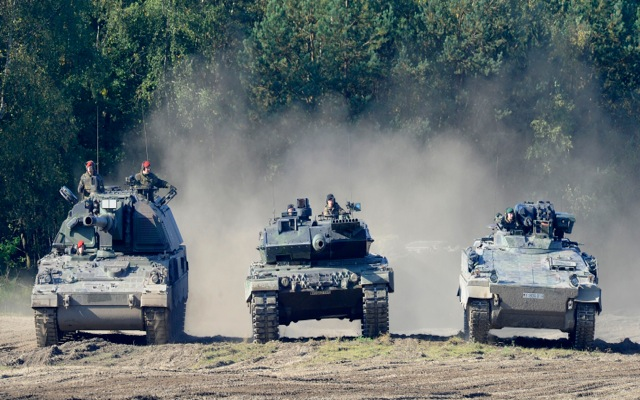 Οι εξαγωγές όπλων στην ατζέντα των γερμανικών εκλογών
