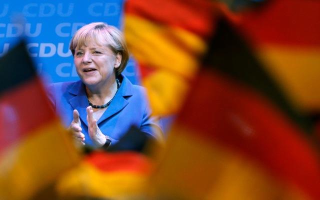 Την τρίτη της εκλογική νίκη γιορτάζει η Άνγκελα Μέρκελ
