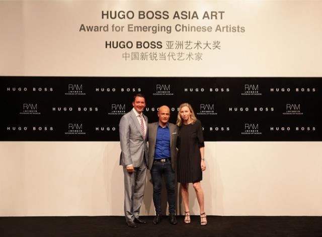 Πρώτη έκθεση HUGO BOSS ASIA ART