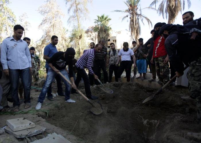 Ξεπερνούν τους 115.000 οι νεκροί του συριακού εμφυλίου