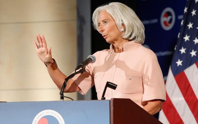 Προειδοποίηση στις ΗΠΑ στέλνει η Κριστίν Λαγκάρντ