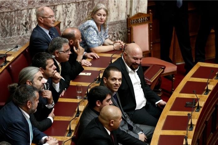 Γερμενής, Ηλιόπουλος και Μπούκουρας απολογούνται για ένταξη και διεύθυνση σε εγκληματική οργάνωση