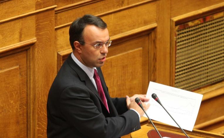 Σταϊκούρας: «Στα 340 εκατ. ευρώ το πρωτογενές πλεόνασμα το 2013»