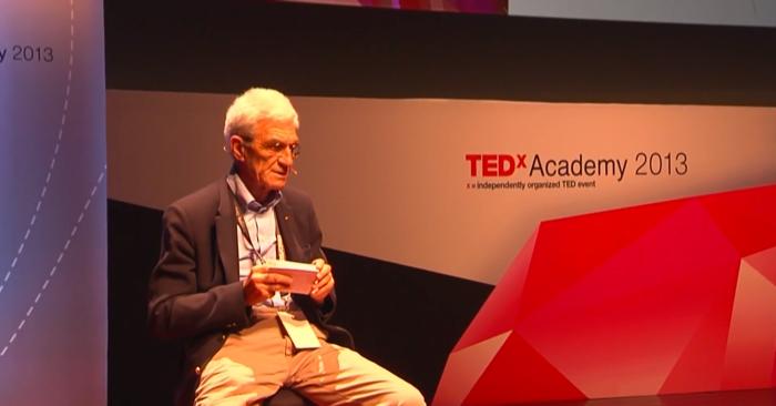 Ο Γιάννης Μπουτάρης κερδίζει τον φόβο και το κοινό της TEDx