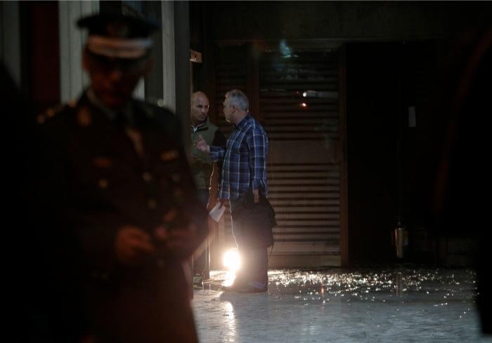 Εμπρηστική επίθεση στο πολιτικό γραφείο του Μιλτιάδη Βαρβιτσιώτη